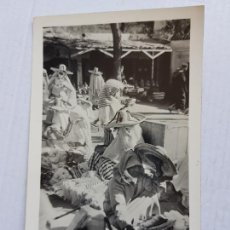 Postales: 199 TETUAN FOTO CALATAYUD ZOCO DE TEJIDOS MERCADO ANIMADA MARRUECOS ESPAÑOL CIRCA 1950. Lote 276255588