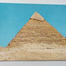 Postales: POSTAL ARTE EGIPCIO. POSTAL PIRÁMIDE DE CHEFREN. GIZA. Lote 277026403