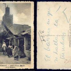 Postales: 1156 - AFRICA MARRUECOS MARRAKECH - RIAD ZITOUN DJEDID EN LA MEZQUITA - POSTAL 1920'. Lote 277165493