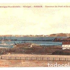 Postales: ANTIGUA TARJETA POSTAL DE AFRICA OCCIDENTAL SENEGAL DAKAR. Lote 277328608