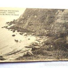 Postales: AFRICA SENEGAL POSTAL DAKAR UN COIN DE 1ANSE BERNARD. Lote 277336243