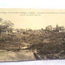 Postales: AFRICA POSTAL DAKAR HOSPITAL ET GOUVERNEMENT GENERAL. Lote 277340758