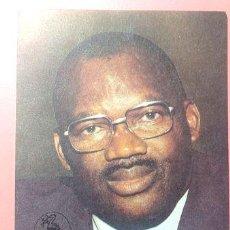 Postales: SUDAFRICA MAXIMUN CARD CISKEI PRESIDENTE DR LLW SEBE 1986. Lote 277358238