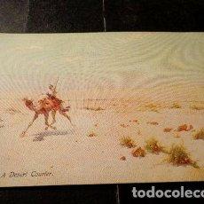 Postales: EGIPTO 1912 RAPHAEL TUCKS ESCENA DEL DESIERTO. Lote 277382708