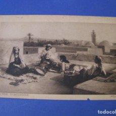 Postales: POSTAL FOTOGRÁFICA DE TUNEZ. ALSINA. SCENE TUNISIENNE.. Lote 284142588