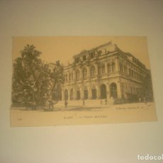 Postales: ALGER . LE TEATRE MUNICIPAL , SIN CIRCULAR.. Lote 287619173