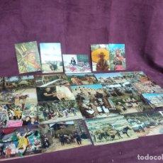 Cartoline: 25 POSTALES ÉTNICAS Y COSTUMBRISTAS, VARIOS PAÍSES, COLOMBIA, SURÁFRICA, TÚNEZ, MALTA, NORUEGA, ETC.. Lote 287682123