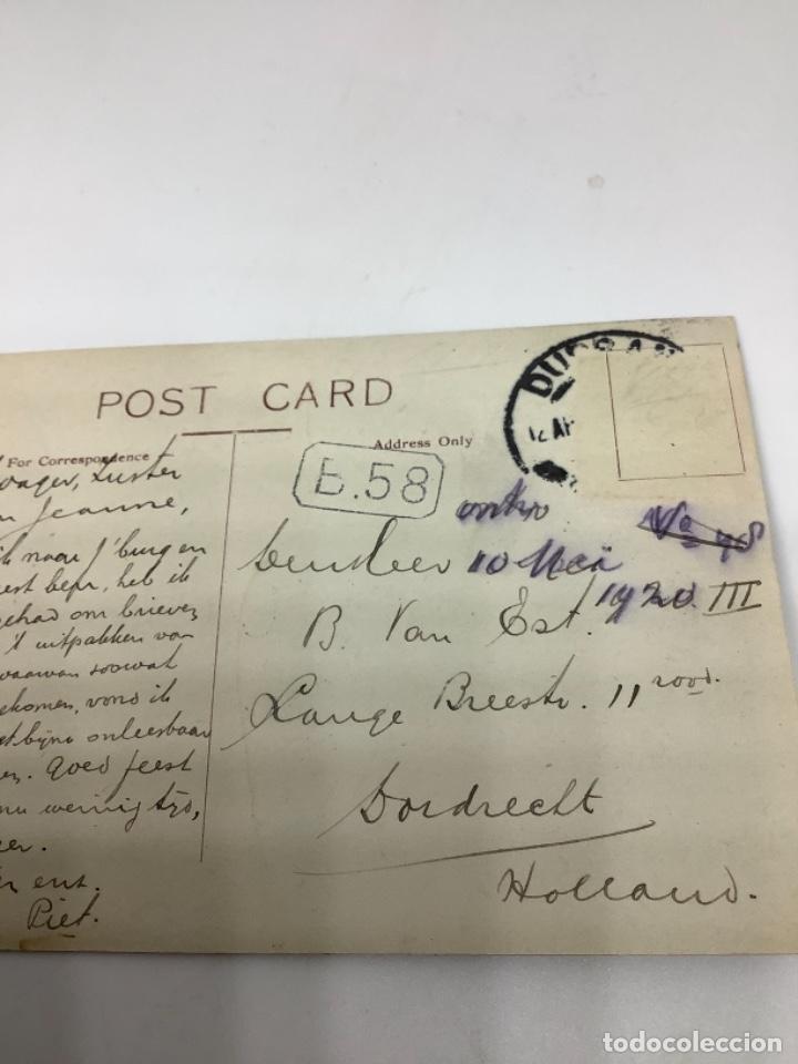 Postales: SOUTH AFRICA, PRETORIA President Kruger's House. Real Photo. Circulada sin sello. - Foto 3 - 288569183