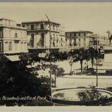 Postales: EGIPTO, EGYPT CAIRO'S BROADWAY KAMEL STREET. .ORIENTAL BUREAU. FOTO REAL. Lote 288730118