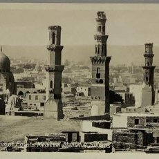 Postales: EGIPTO, EGYPT CAIRO MAUSOLEUM EGYPTS MAMELUK SULTANS. ORIENTAL BUREAU. FOTO REAL. Lote 288730493