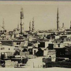 Postales: EGIPTO, EGYPT CAIRO CITY OF DOMES AND MINARETS. ORIENTAL BUREAU. FOTO REAL. Lote 288730768