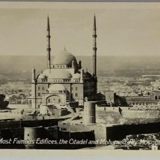Postales: EGIPTO, EGYPT CITADEL AND MOHAMED ALY MOSQUE. ORIENTAL BUREAU. FOTO REAL. Lote 288731043