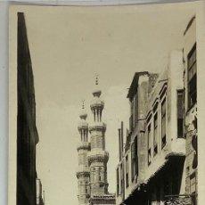 Postales: EGIPTO, EGYPT CAIRO STREET IN OLD CAIRO. ORIENTAL BUREAU. FOTO REAL. Lote 288731178