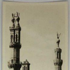 Postales: EGIPTO, EGYPT CAIRO AL AZHAR MOSQUE. ORIENTAL BUREAU. FOTO REAL. Lote 288731263