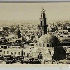 Postales: EGIPTO, EGYPT CAIRO PANORAMIC VIEW. ORIENTAL BUREAU. FOTO REAL. Lote 288731343