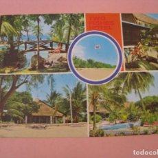 Postales: POSTAL DE KENIA. TWO FISHES HOTEL. UKUNDA, MOMBASA. CIRCULADA 1988.. Lote 289258488