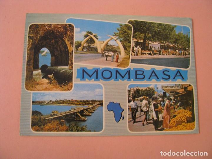 POSTAL DE KENIA. MOMBASA. CIRCULADA 1986. (Postales - Postales Extranjero - África)