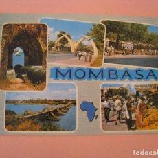 Postales: POSTAL DE KENIA. MOMBASA. CIRCULADA 1986.. Lote 289258568