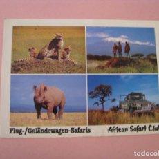 Postales: POSTAL DE AFRICAN SAFARI CLUB. CIRCULADA 1988.. Lote 289259363
