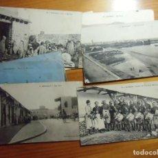 Postales: MAZAGAN(MARRUECOS)POSTALES ESCRITAS 1920-1921. EDIC.VARIAS.. Lote 289349543