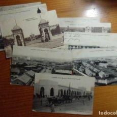 Postales: CASABLANCA(MARRUECOS)LOTE DE 12 POSTALES ESCRITA 1921.EDIC.VARIAS.. Lote 289350148