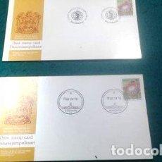 Postales: 2 TARJETAS 1 DIA DE EMISION SUD AFRICA 1980. Lote 294211078