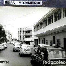 Postales: ANTIGUA POSTAL DE LA CIUDAD DE BEIRA MOZAMBIQUE FIAT 600. Lote 294251228