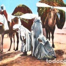 Postales: POSTAL CIRCULADA DE LA CIUDAD DE REDJAR ARGELIA ANO 1959. Lote 294253128