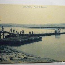 Postales: POSTAL LARACHE -PUENTE DE PONTONES. Lote 295383758