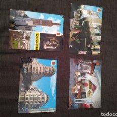 Postales: LOTE DE 4 POSTALES DE TÁNGER. ESCUDO DE ORO . 18, 27, 45 Y 72. SIN CIRCULAR. Lote 295446878