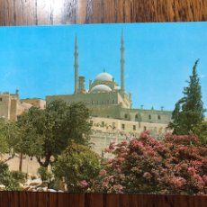 Postales: POSTAL CAIRO THE MOHAMED ALY MOSQUE EGYPT EGIPTO. Lote 296854448
