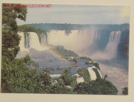 FOZ DO IGUACU - VISTA PARCIAL - ESTADO DO PARANA - BRASIL . NO CIRCULADA . (Postales - Postales Extranjero - América)