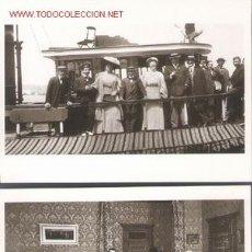Postales: 2 POSTALES DE TEATRO. Lote 736141