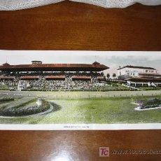 Postales: ANTIGUA POSTAL PANORAMICA DE CUBA - EL HIPODROMO - AÑOS 40 / 50 COLOREADA. Lote 24606755
