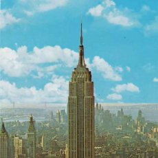 Postales: POSTAL EMPIRE STATE BUILDING- NEW YOK CITY. Lote 21386026