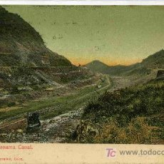 Postales: POSTAL DE PANAMA FERROCARRIL PARA EL CANAL. Lote 4818839