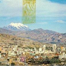 Postales: 7-1349. POSTAL BOLIVIA. CIUDAD DE LA PAZ. (DETERIORADA). Lote 4839231