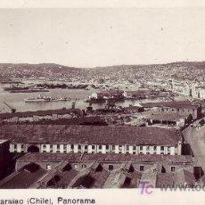 Postales: CHILE.POSTAL FOTOGRAFICA PANORAMA DE VALPARAISO. SIN CIRCULAR.. Lote 22133592
