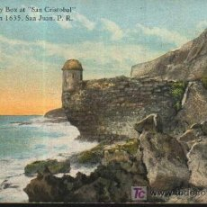 Postales: CASTILLO DE SAN CRISTOBAL. SAN JUAN. PUERTO RICO. 1926. Lote 27641782
