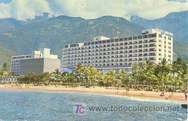 7-1218. POSTAL HOTEL MACUTO - SHERATON. VENEZUELA (Postales - Postales Extranjero - América)