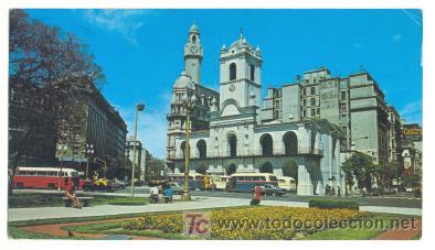 BUENOS AIRES .. VISTA DEL CABIDO PLAZA DE MAYO .. 18 X10 CM. (Postales - Postales Extranjero - América)