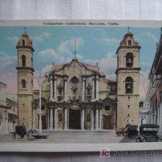 Postales: POSTAL DE LA HABANA, CUBA. -COLUMBUS CATHEDRAL. COLOREADA. SWAN, HAVANA. 45. SIN CIRCULAR.. Lote 27121857
