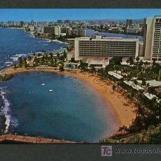 Postales: PUERTO RICO. SAN JUAN *CARIBE HILTON INTERNATIONAL* ED. CURTEICHCOLOR Nº 5EK-359. NUEVA.. Lote 8476133