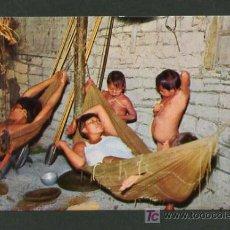 Postales: VENEZUELA. REG. ALTO ORINOCO. *INTERIOR VIVIENDA INDIOS DEL ALTO ORINOCO* ED. EDICAR Nº 175. NUEVA.. Lote 8493661