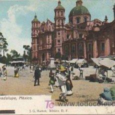 Postales: MÉXICO. CATEDRAL DE GUADALUPE. (J.G. HATTON). . Lote 8658473