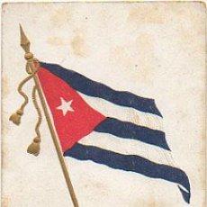 Postales: BANDERA DE CUBA. . Lote 8810834