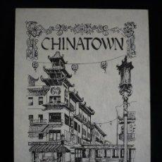 Postales: CHINATOWN. SAN FRANSCISCO. SIN CIRCULAR. Lote 8812789