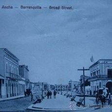 Postales: BARRANQUILLA,CALLE ANDRES,COLOMBIA. Lote 9653651