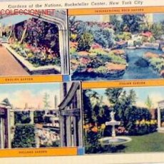 Postales: POSTAL NEW YORK, GARDENS ROCKEFELLER CENTER. Lote 1231664