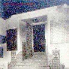 Postales: POSTAL FOTOGRÁFICA MÉXICO CHURUBUSCO DF PUERTA DE ENTRADA AL CORO INSPECCIÓN MONUMENTOS. Lote 1270354